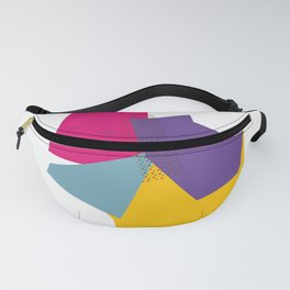 Color block style - geometric Fanny Pack