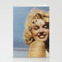 marylin monroe Stationery Cards featuring Marylin 1 by j.levent