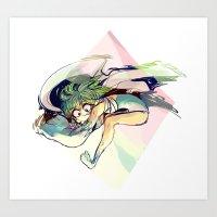 zzzoom Art Print