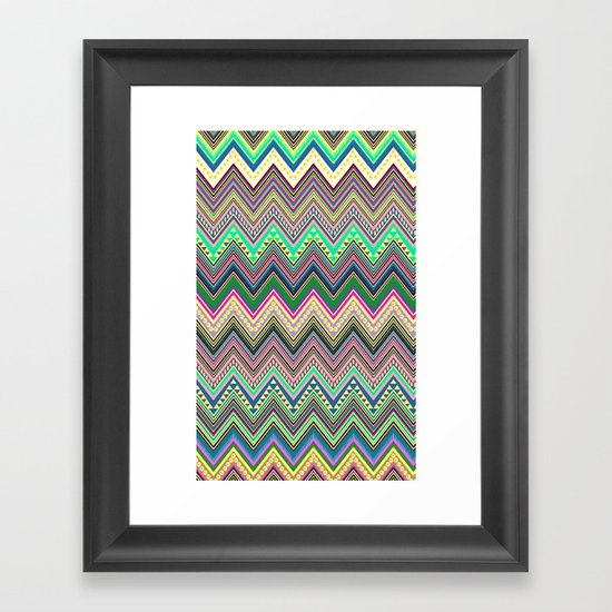 blast of summer new colour! Framed Art Print