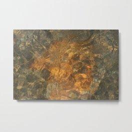 Natural Mosaic 5 Metal Print