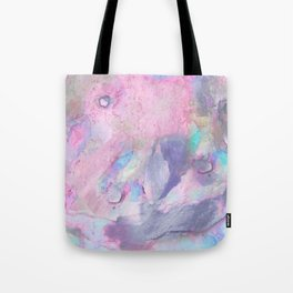Soft Color Mermaid Style Tote Bag