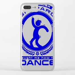 COMMANDER SHEPARD TAUGHT ME HOW TO DANCE T-SHIRT Clear iPhone Case