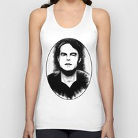 snl Tank Tops featuring DARK COMEDIANS: Bill Hader by Zombie Rust