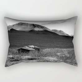 Death Valley Shack Rectangular Pillow