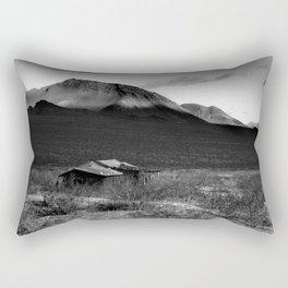Death Valley Shack Rectangular Pillow
