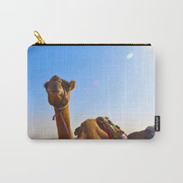 Camel Face Carry-All Pouch