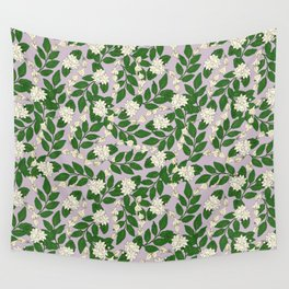 Sampaguita Pattern Wall Tapestry