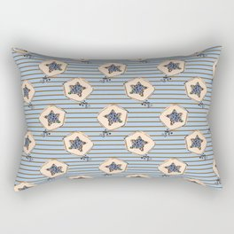 papaya pattern Rectangular Pillow