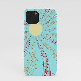 Music Brightens the World iPhone Case