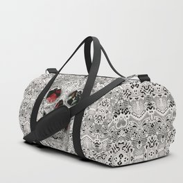 Lace Skull 2 Duffle Bag