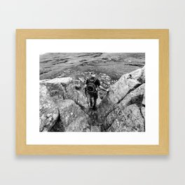 Our Adventure Framed Art Print