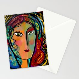 Just like Heaven Pop Art Portrait Stationery Cards