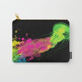 splatter jellyfish Carry-All Pouch