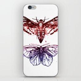 Moths iPhone Skin