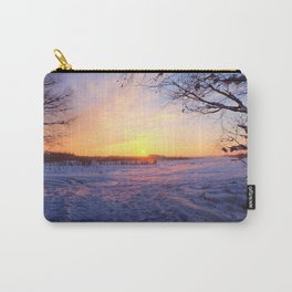 Snowed in peat fields Carry-All Pouch