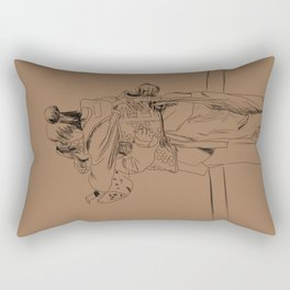 After the Match Rectangular Pillow