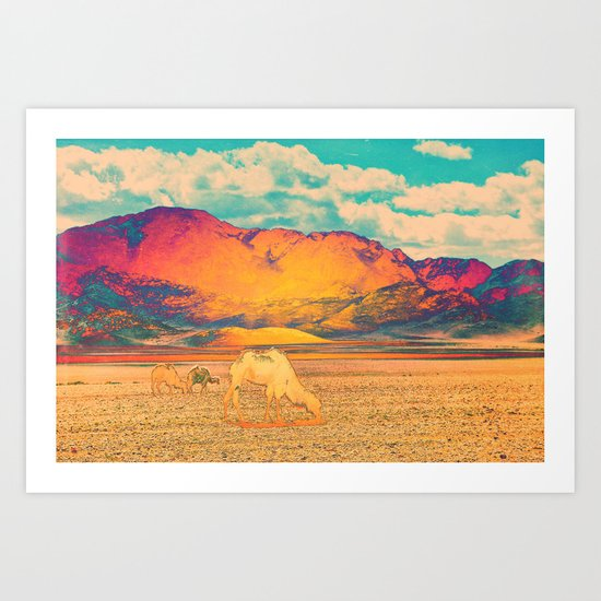 Dull To Pause. Art Print