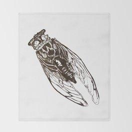 Cicada Throw Blanket