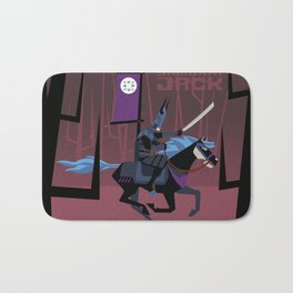 Last Ride of Samurai Jack Bath Mat