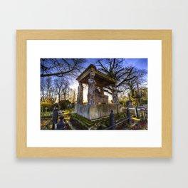 Kensal Green Cemetery London Framed Art Print