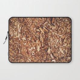 Sawdust background texture Laptop Sleeve