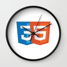 Html5 and CSS3 Wall Clock