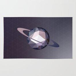 Geometric Saturn Rug
