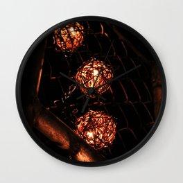Spheres Wall Clock