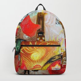 The Cathedrals of Broadway Florine Stettheimer Backpack