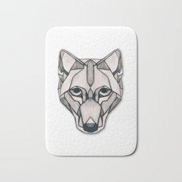 Edges (Wolf) Bath Mat