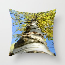 Running up the tree  Throw Pillow