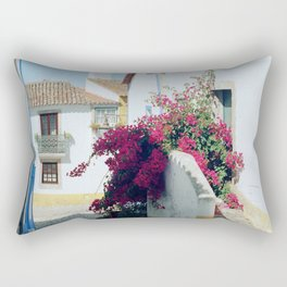 Portugal, Obidos (RR 185) Analog 6x6 odak Ektar 100 Rectangular Pillow