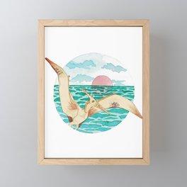 little pterror Framed Mini Art Print