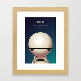 Marvin the Android Framed Art Print