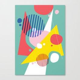 Abstract Pop II Canvas Print