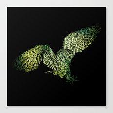3:33 Owl Canvas Print