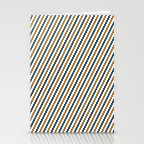 Postal stripes Stationery Cards