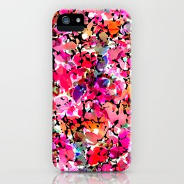 Hawaiian Batik Floral iPhone Case