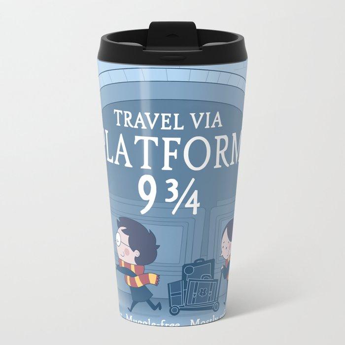 Platform 9 3/4 Metal Travel Mug