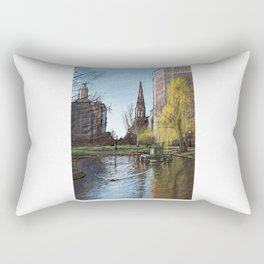 Public Garden 3 Rectangular Pillow