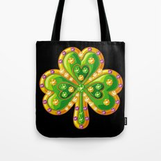 Jewelry shamrock Tote Bag