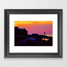 The Left Coast Framed Art Print