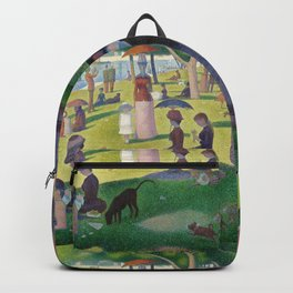 "Georges Seurat "" A Sunday Afternoon on the Island of La Grande Jatte "" Backpack"