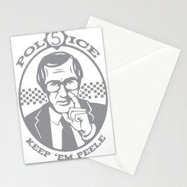 Keep 'Em Peeled (Police 5) Stationery Cards