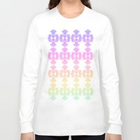 casablanca Long Sleeve T-shirts featuring Sorbet in Casablanca by ZaWe