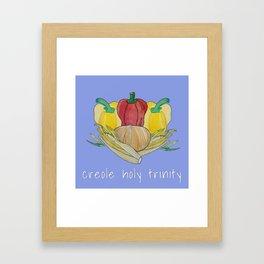 creole holy trinity Framed Art Print