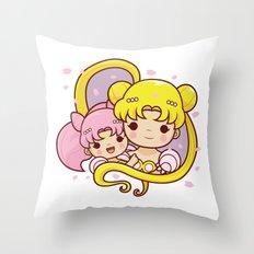 Sailor Moon Princesses Throw Pillow