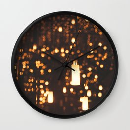 By Candlelight Wall Clock