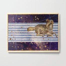 Aries - Uranometria Collection Metal Print
